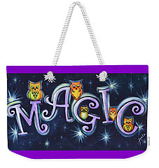 Magic With Owls Weekender Tote Bag
