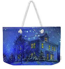 Magical Blue Nocturne Home Sweet Home Weekender Tote Bag