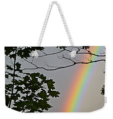 Weekender Tote Bag featuring the photograph Magical Colours by Claire Bull