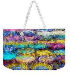 Weekender Tote Bag featuring the digital art Magical Dreams  by Riana Van Staden