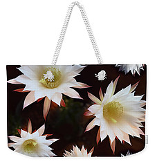 Weekender Tote Bag featuring the photograph Magical Flower by Gina Dsgn