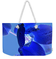Magical Flower I - Blue Velvet Weekender Tote Bag
