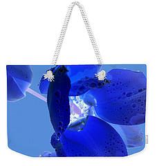 Magical Flower I - Blue Velvet Weekender Tote Bag