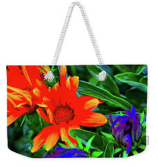 Magical Flowers Weekender Tote Bag