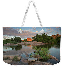 Magical Light On The River Weekender Tote Bag