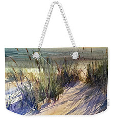 Weekender Tote Bag featuring the painting Magical Michigan by Sandra Strohschein