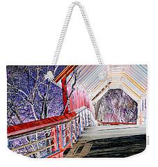 Magical Mystery Bridge Weekender Tote Bag