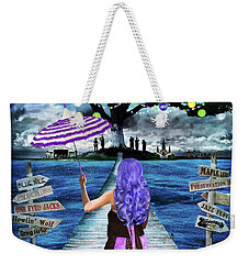 Magical New Orleans Weekender Tote Bag by Tammy Wetzel