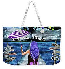 Magical New Orleans Weekender Tote Bag
