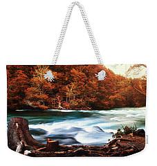 Magical Patagonia Weekender Tote Bag