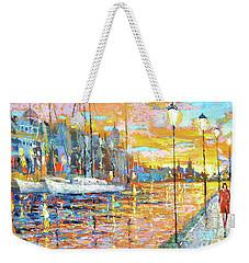 Magical Sunset Weekender Tote Bag
