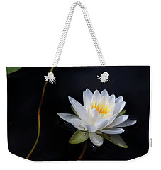 Magical Water Lily Weekender Tote Bag by Michelle Wiarda