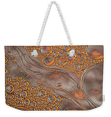 Magma Fusion Abstract Weekender Tote Bag by Bruce Pritchett