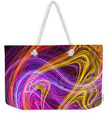 Magnetic Flames Weekender Tote Bag by Mark Blauhoefer