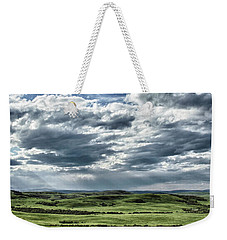 Magnetic View Weekender Tote Bag