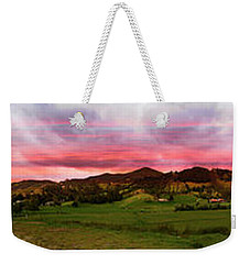 Magnificent Andes Valley Panorama Weekender Tote Bag