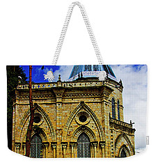 Weekender Tote Bag featuring the photograph Magnificent Church Of Biblian by Al Bourassa