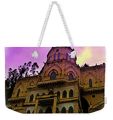 Weekender Tote Bag featuring the photograph Magnificent Church Of Biblian II by Al Bourassa