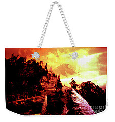 Weekender Tote Bag featuring the photograph Magnificent Church Of Biblian IIi by Al Bourassa