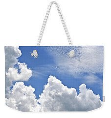 Magnificent Clouds Weekender Tote Bag by Tara Potts
