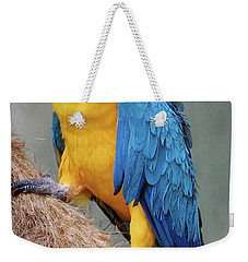 Magnificent Macaw Weekender Tote Bag