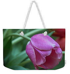Magnificent Magenta Weekender Tote Bag by Arlene Carmel