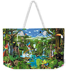 Magnificent Rainforest Weekender Tote Bag