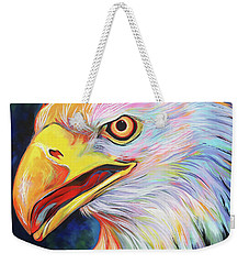 Weekender Tote Bag featuring the painting Magnifico by Angela Treat Lyon