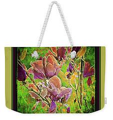 Magnolia Blooms Weekender Tote Bag