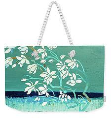 Magnolia Weekender Tote Bag by Gallery Messina