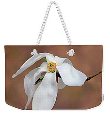 Weekender Tote Bag featuring the photograph Magnolia Grace by Nikolyn McDonald