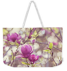 Weekender Tote Bag featuring the photograph Magnolia by Melanie Alexandra Price