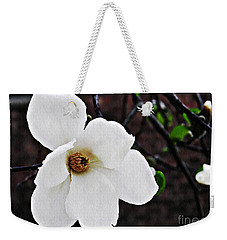 Magnolia Memories 1 Weekender Tote Bag by Sarah Loft