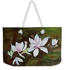 Magnolia - Painting  Weekender Tote Bag