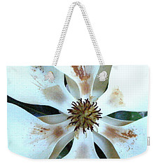 Magnolia Pinwheel Weekender Tote Bag by Nancy Kane Chapman