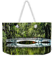 Magnolia Plantation Bridge - Charleston Sc Weekender Tote Bag