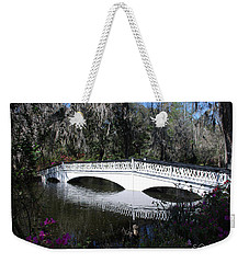 Magnolia Plantation Bridge Weekender Tote Bag