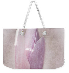 Weekender Tote Bag featuring the photograph Magnolia by Ryan Photography