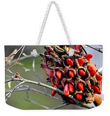 Magnolia Seedhead Weekender Tote Bag