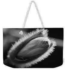 Weekender Tote Bag featuring the photograph Magnolia Stellata Bud by Keith Elliott