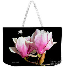 Magnolias In Spring Bloom Weekender Tote Bag by Jeannie Rhode
