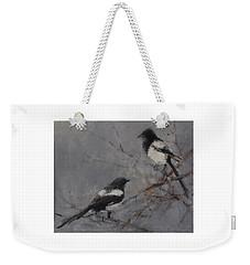 Magpies Weekender Tote Bag