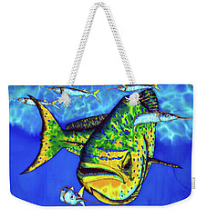 Mahi Mahi And Ballyhoo Weekender Tote Bag