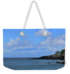 Weekender Tote Bag featuring the photograph Mahukona by Pamela Walton