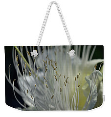 Weekender Tote Bag featuring the photograph Maiapilo Flower by Pamela Walton