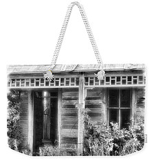 Weekender Tote Bag featuring the photograph Maiden History 2 by Susan Kinney