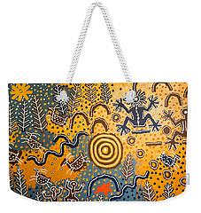 Maidu Creation Story Weekender Tote Bag