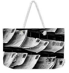 Mail Call Weekender Tote Bag