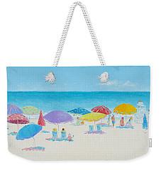 Main Beach East Hampton  Weekender Tote Bag by Jan Matson