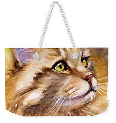 Main Coon Weekender Tote Bag by Judith Levins
